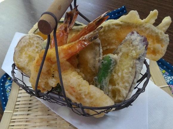 イカの天ぷら 温度